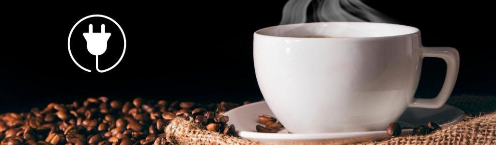 Hoeveel energie koffie zetten